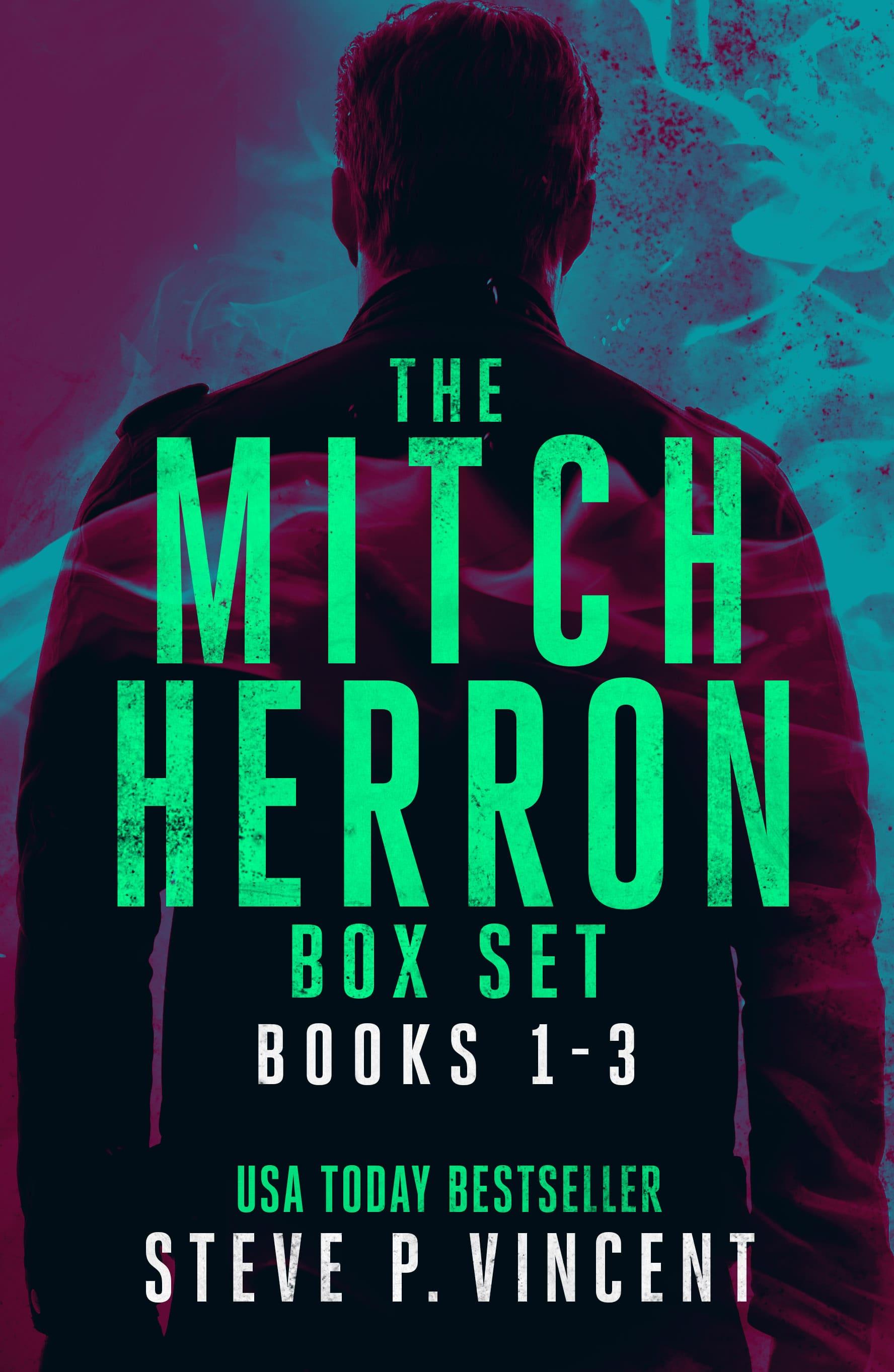 Mitch Herron series box